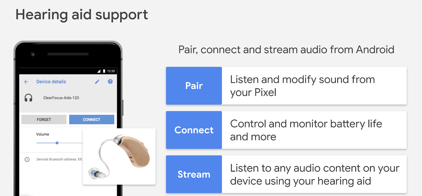 Android Developers Blog: Streaming support spec for hearing aids on