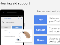 Streaming support spec for hearing aids on Android