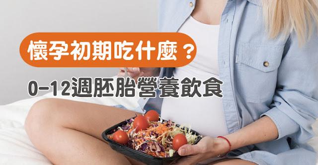 懷孕初期孕婦吃什麼?懷孕初期營養品補充