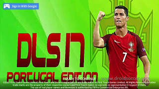 DLS v4.10 Mod Portugal Edition Apk+OBB DATA for Android Terbaru