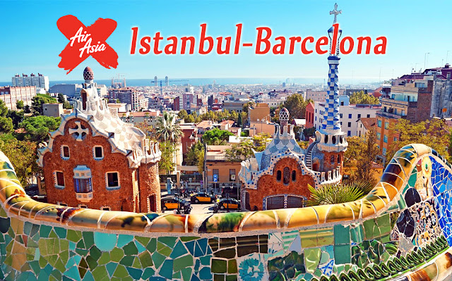 Istanbul and Barcelona AirAsia X Flights