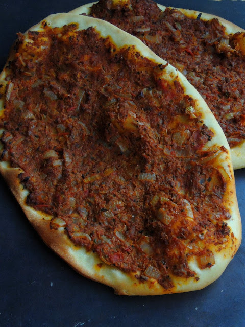 Vegan Turkish Pizza