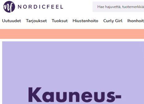 nordicfeel kokemuksia kosmetiikkaa netistä