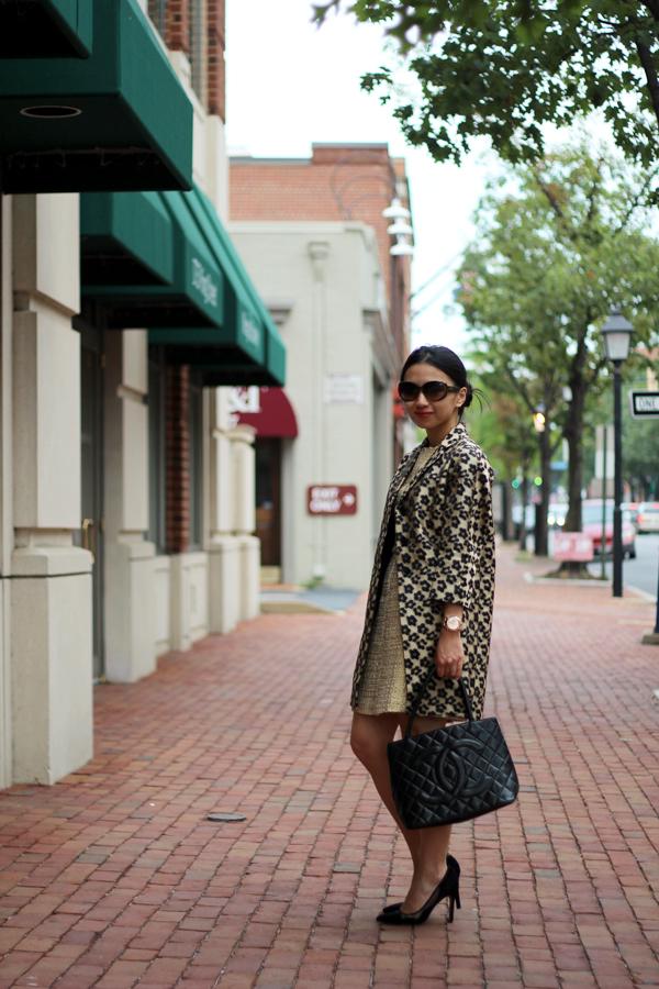 020b38d8c2f1 Tweed and Leopard (+ Ann Taylor Floral Leopard Jacquard Topper ...