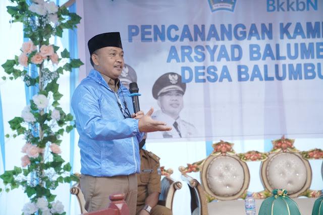 Bupati Bantaeng Resmikan Kampung KB Mandiri Pertama di Sulsel