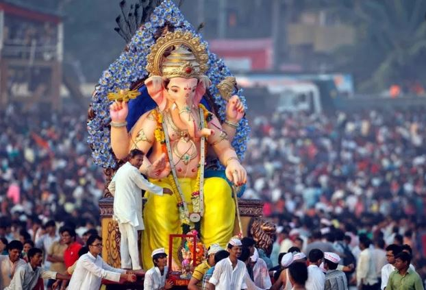 Most Popular and famous festivals in India : Ganesh chaturthi