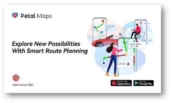Aplicação Petal Maps da Huawei distinguida com Prémio Red Dot Design