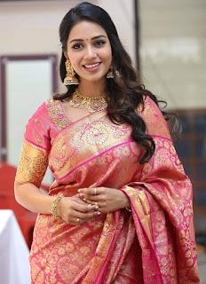 Actress Nivetha Pethuraj HD Latest Images In Traditional Saree