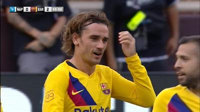 Friendly : Napoli 0 vs 4 Barcelona 10-08-2019