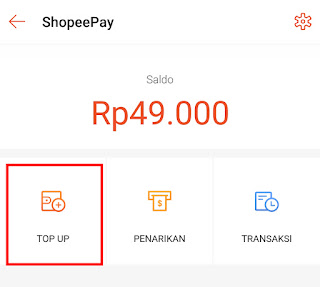 Cara Mengisi Saldo ShopeePay (Top Up ShopeePay)