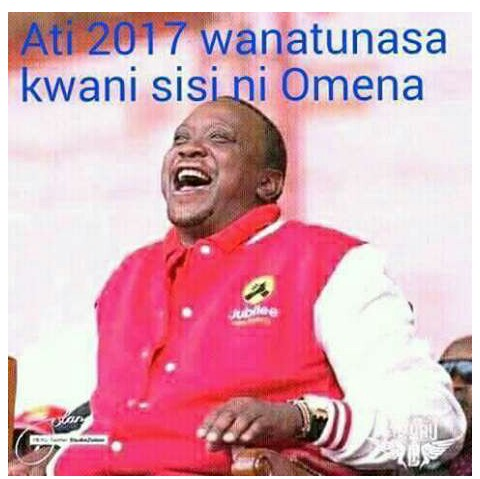 This joke about LUOs and UHURU will make your day, Eh! Eh! So funny.