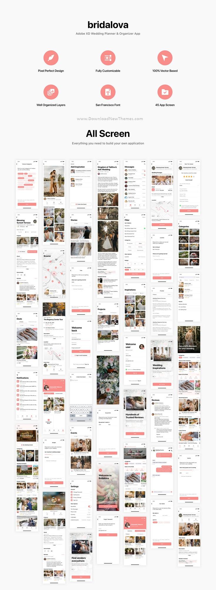 Wedding Planner & Organizer App