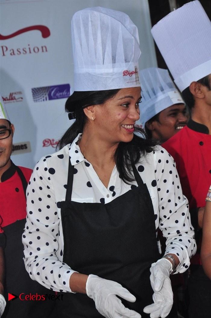 Yamini Bhaskar Stills at Christmas Cake Mixing Ceremony