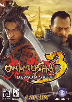 Capa do Onimusha 3: Demon Siege