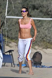 alessandra ambrosio plays beach volleyball 10 24 2020 23
