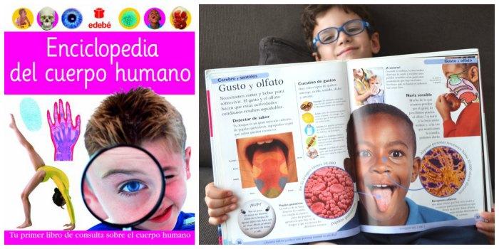 libros infantiles, materiales, actividades manualidades aprender cuerpo humano enciclopedia edebe