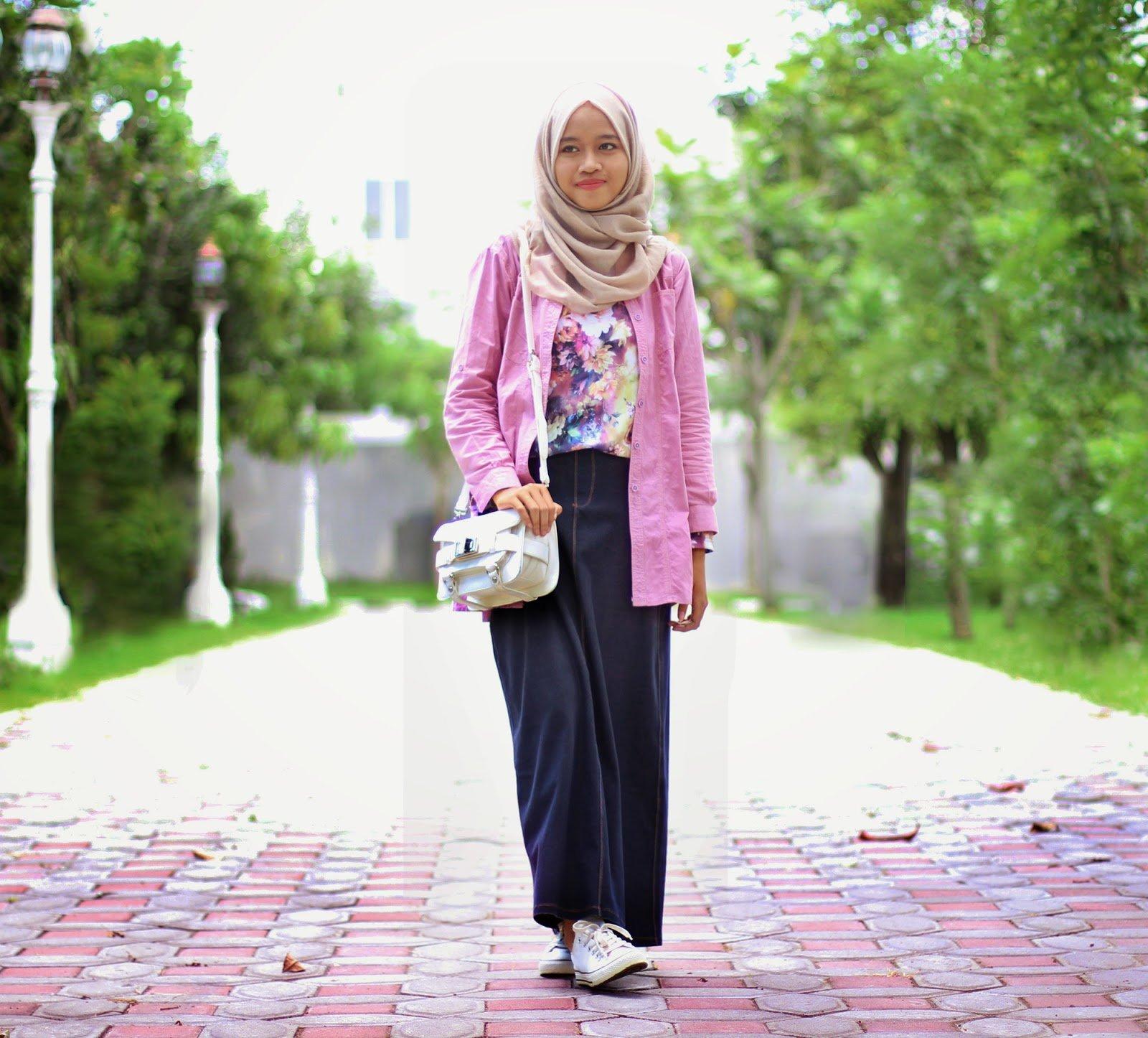 Model Baju Mahasiswa Muslimah Terbaru Yang Cocok Untuk