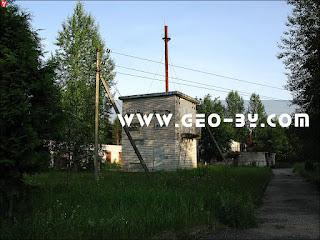 Электрическая подстанция у санатория Лесное