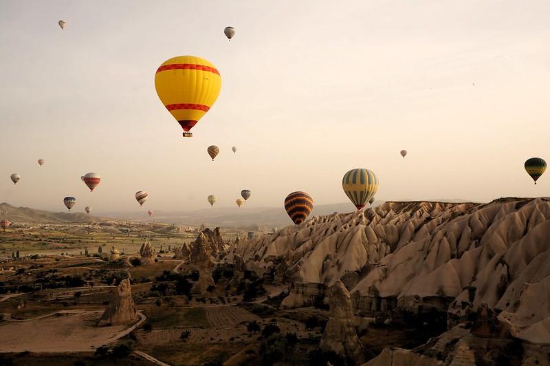 Balloons over the planet Cappadocia...