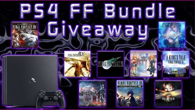 Sorteio de Um PlayStation 4 Pro Final Fantasy Bundle!
