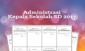 Administrasi Kepala Sekolah Format Dan Contoh Toz Sugianto