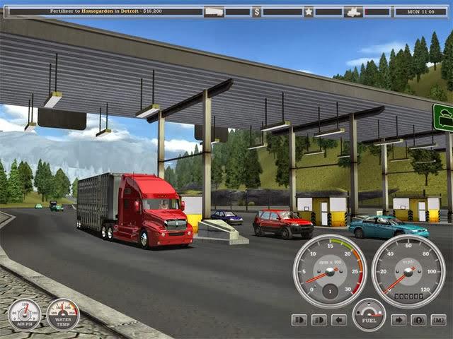 تحميل لعبه Wheels of Steel Haulin سيارات النقل الكبيره للكمبيوتر برابط مباشر