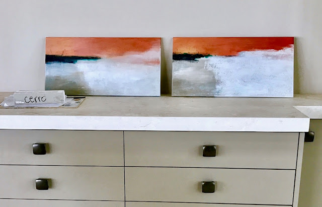 Abstract painting samples