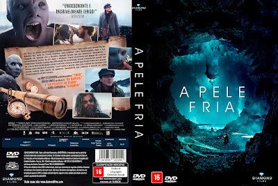 Filme A Pele Fria (Cold Skin) DVD Capa