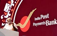 Narendra Modi launched IPPB.