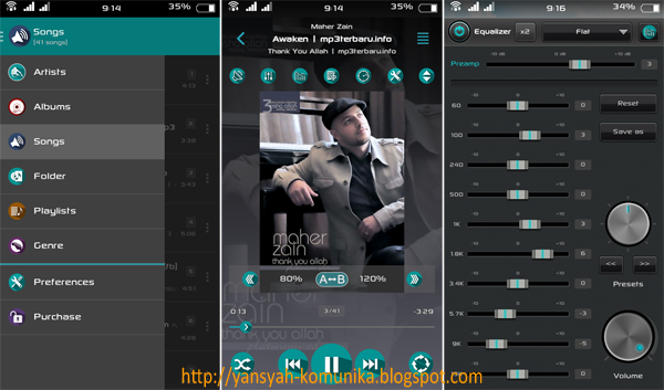 download jetAudio Plus Mod Material Design