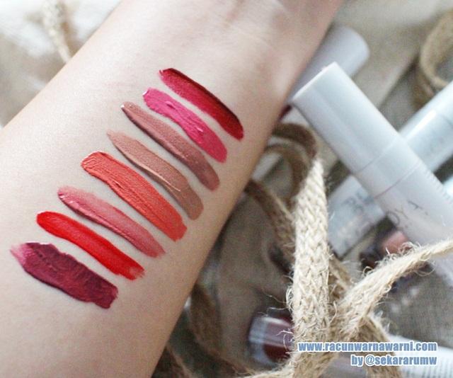 Swatch Lipstik Zoya
