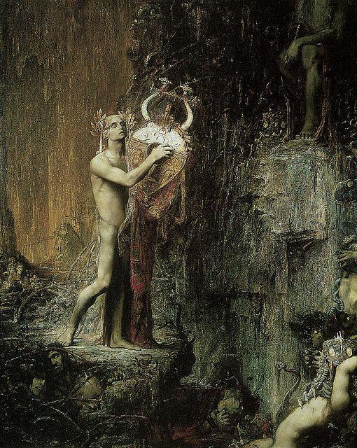 """Pierre Amédée Marcel-Béronneau (French, 1869-1937), """"Orpheus"""""""