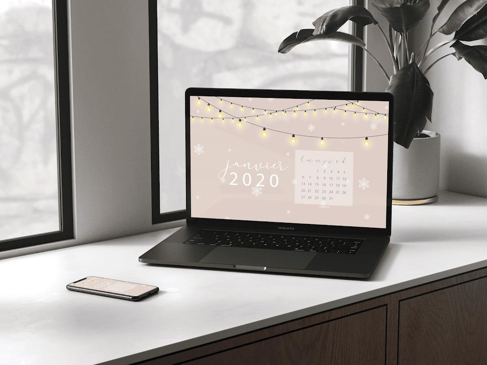 Fonds d'écrans - Janvier 2020