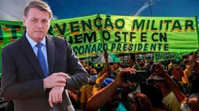 Está chegando a hora. Essa é mais uma ameaça de Bolsonaro para seguidores vê