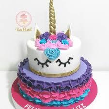 tortas y ponques de unicornio para fiestas bogota al mejor precio
