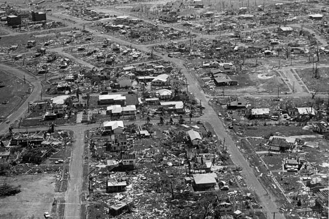 Cyclone Tracy, Darwin – Fact sheet 176