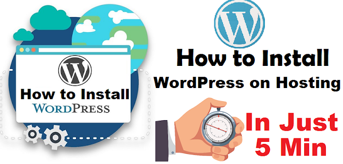 How to Install WordPress on Hosting – Full Information