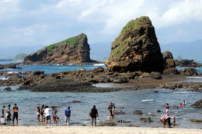 Pantai Papuma di Jember