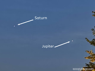 Here's shot of planet Jupiter from mobile camera