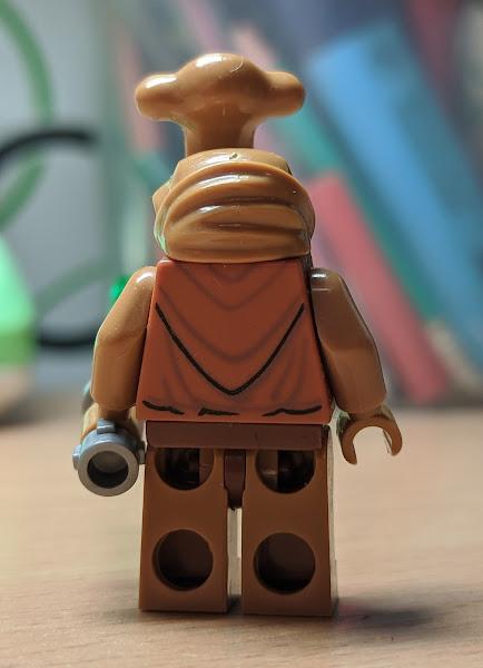 Иторианский джедай фигурка лего Звездные войны
