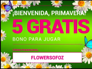 Goldenpark 5 euros gratis 19-3-2021