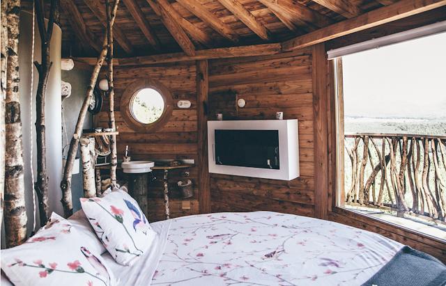 Dormire in una casa sull'albero: Cabanes als Arbres