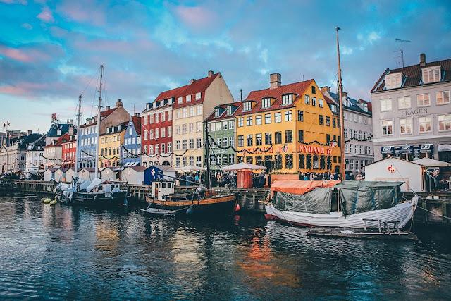 Do Aeroporto de Copenhaga para o centro da cidade