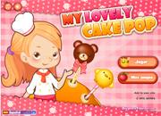 juegos de cocina my lovely cake pop