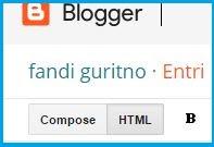 cara buat daftar isi blog super ringan