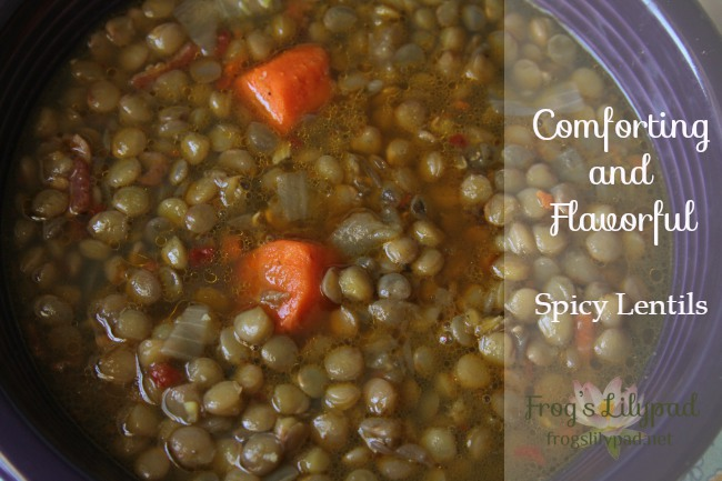 Lentils are tiny legumes and they do big, powerful jobs within our body. With the right flavoring and seasoning you can have a bowl of Spicy Lentils. frogslilypad.net