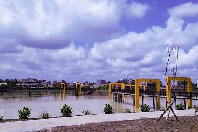 Mau Berjalan Diatas Air, Datangi Taman Terbuka Hijau di Sekayu