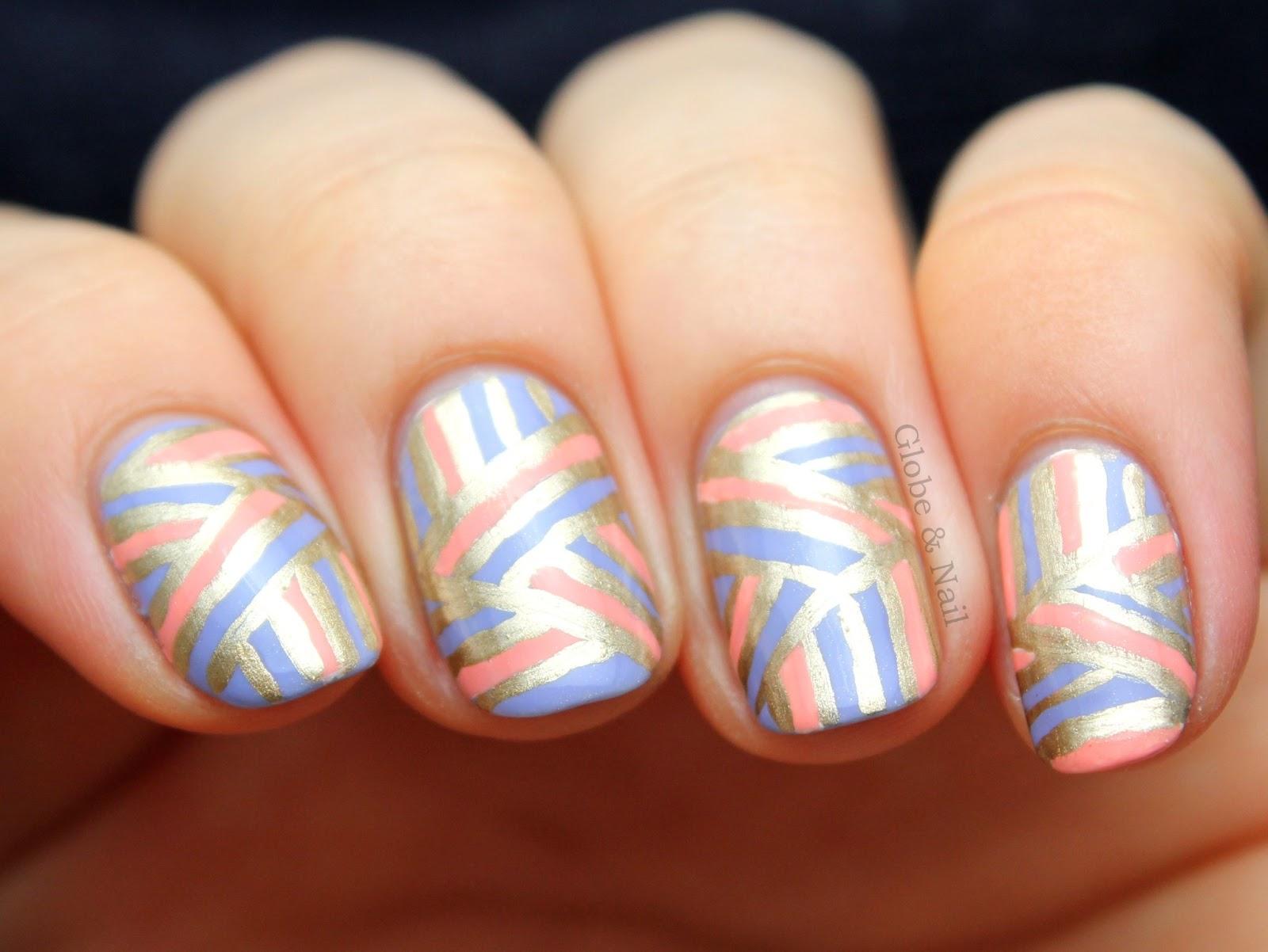 2013 squareround nails globe nail triangular geometrics ...