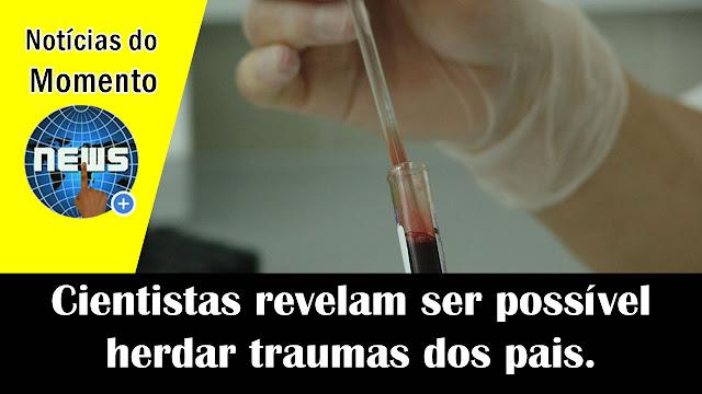Cientistas revelam ser possível herdar traumas dos pais.