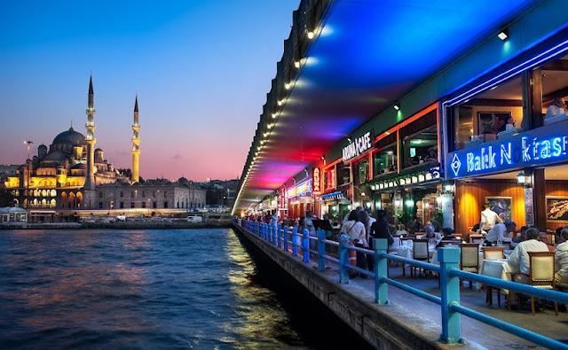 Primeiro dia de roteiro em Istambul